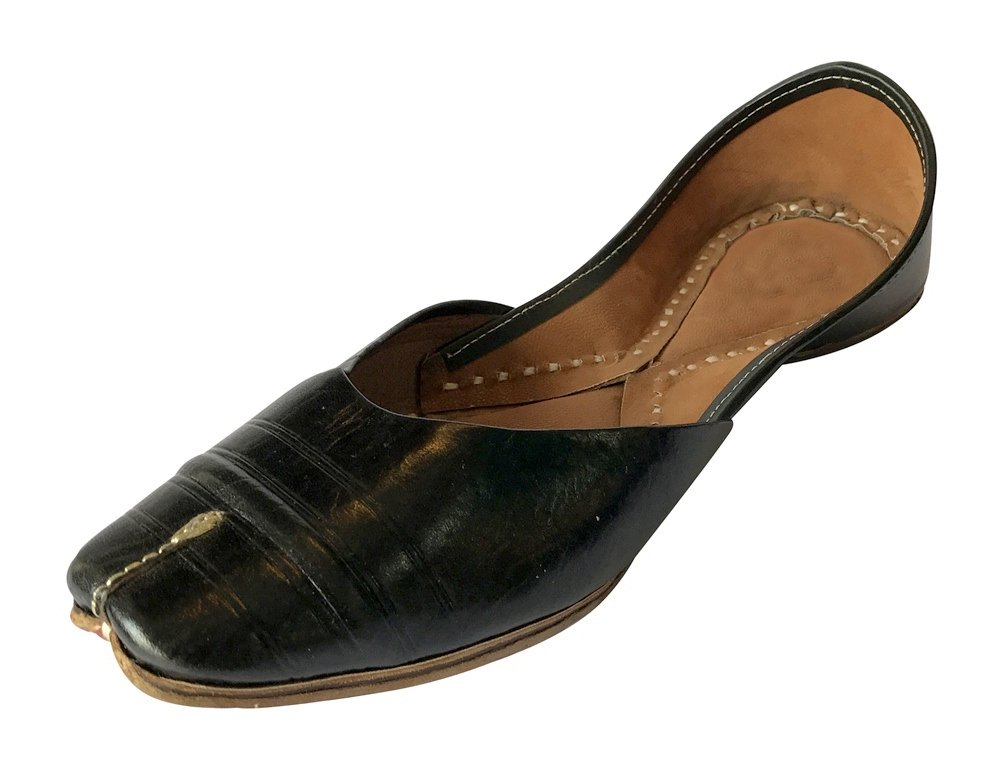 Step n Style Punjabi Jutti Fancy Indian Shoes Wedding Bridal Shoes Mojari Flat Flip Flops