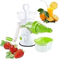 housesweet Hand Crank Juicer Koud Druk Handleiding Tarwegras Juicer Icecream Blender Fruit Groente Sap Extractor 26.5…