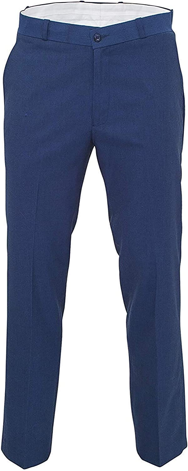 60s Fancy Dress and Quality Clothing 1960s UK Relco Mens Classic Blue Tonic Stay Press Trousers £39.99 AT vintagedancer.com