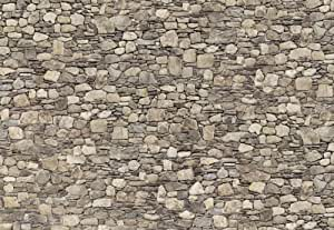 Eurographics DW-RFI1005 Stone Wall - Póster decorativo para pared (imitación piedra, 254 x 366 cm)