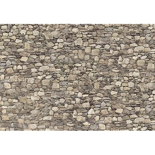Platin Art Wall Mural Deco Wall, Stone Wall, 8 Feet 4 Inch By 12 Feet