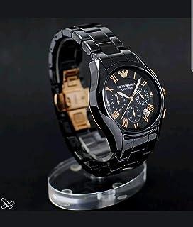 94e5b73972da Emporio Armani AR1410 Herren-Quarzuhr aus Keramik, schwarz