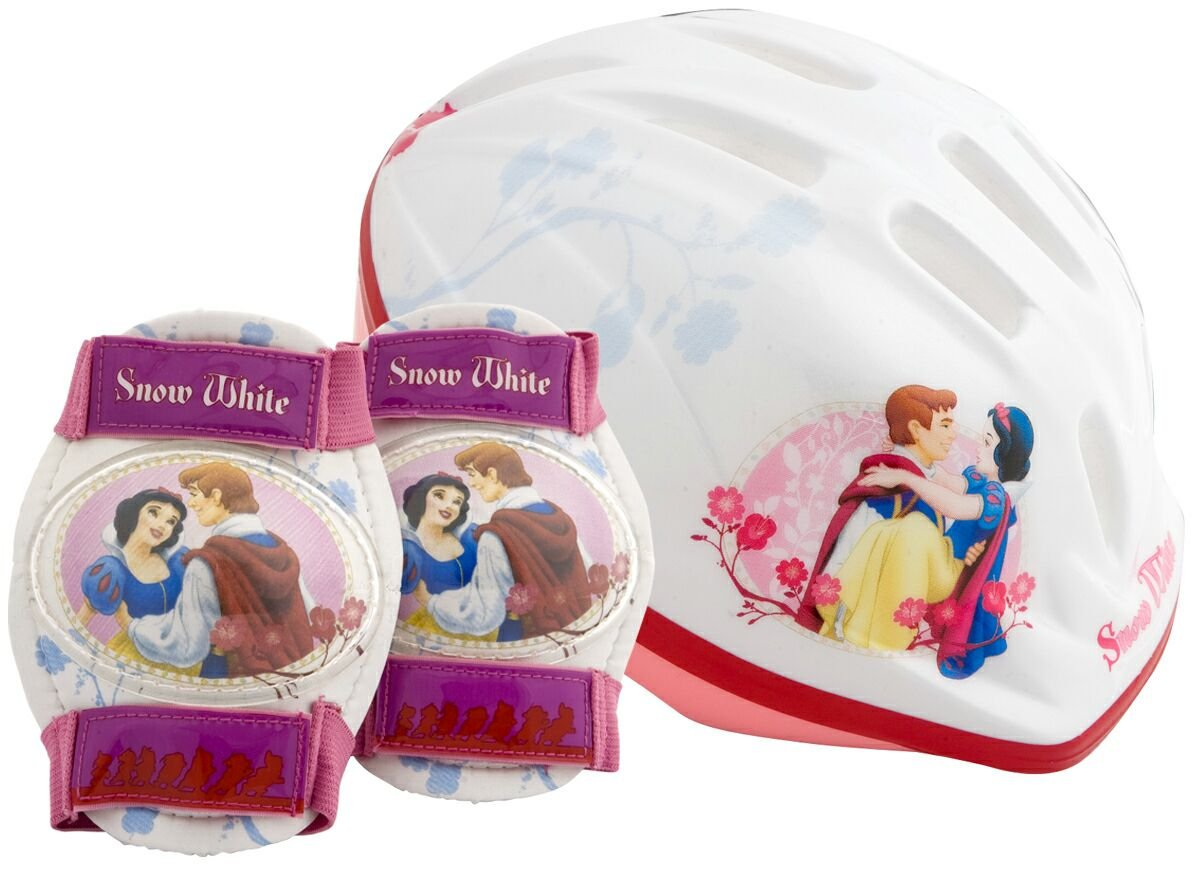 Princess Toddler's Pacific Disney Snow White Helmet and Pads by Princess