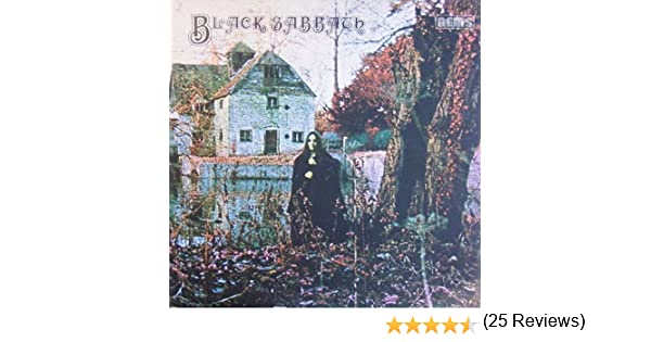 black sabbath LP Importación