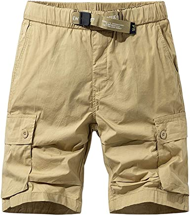 Lunule Nuevo Pantalones Cortos Para Hombre Moda Pantalones De Trabajo Hombre Verano Pantalones Cortos Deporte Hombre Multibolsillos Suelto Pantalones De Chandal Hombre Pantalon Cargo De Vestir Amazon Es Ropa Y Accesorios