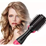 Multifunctional Hot Air Comb/Hair Dryer Comb, Hair Dryer 2 in 1 Hair Curler, Anion Curl Brush for All Hairstyles