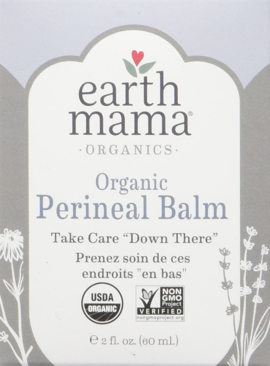 Earth Mama Organic Perineal Balm for Pregnancy and Postpartum, 2 Fluid Ounce by Earth Mama