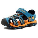 Amazon Price History for:Poppin Kicks Boys' & Girls' Quick Dry Closed Toe Water Sandals (Toddler/Little Kid/Big Kid)