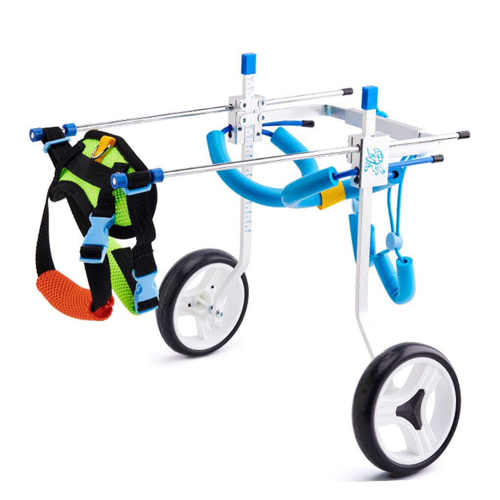 XXS Sarazong Dog Wheelsedia,Dog Hind Leg Support Chair Regolabile Pet Wheelsedia 7 Dimensione per Hind Pet Disabilitati Pet Hind Legs Support Wheelsedia,XXS