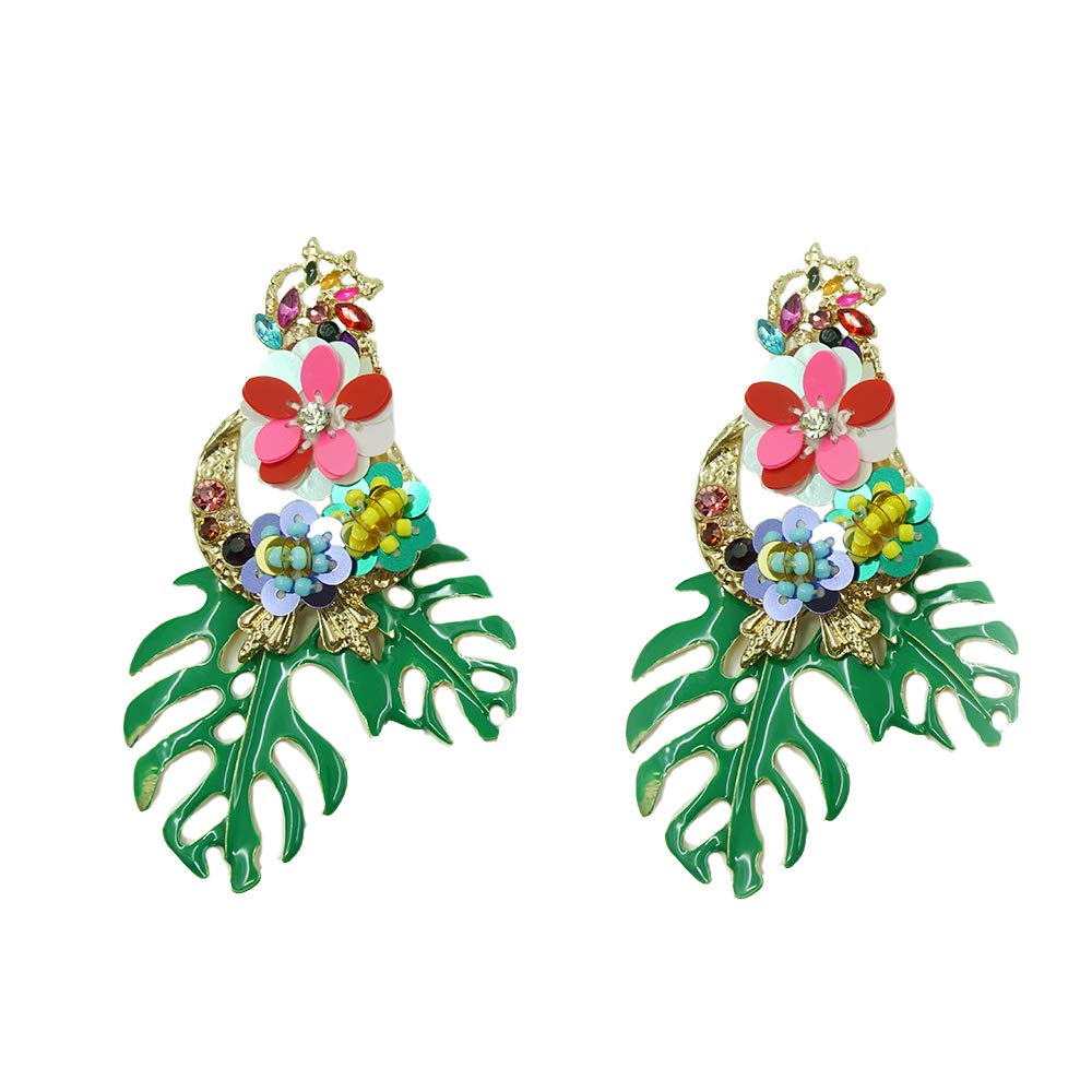 Colorful Rainforest Dangle Drop Earrings Stud Earrings Ideal Vacation