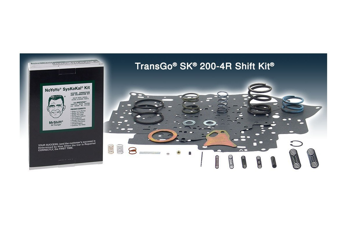 200-4R 2004R Transmission TRANSGO Shift Kit