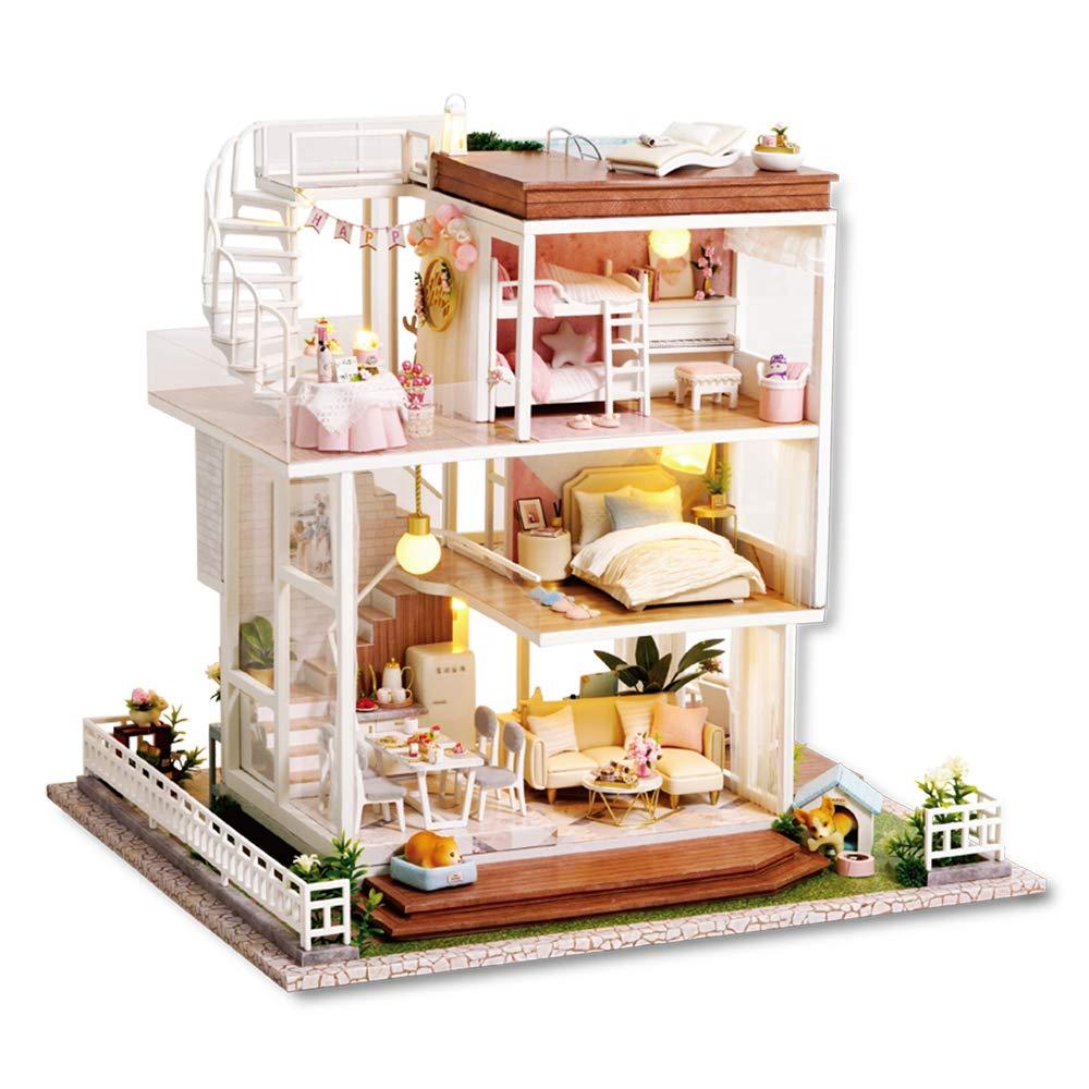 6Pcs Colorful Wine Bottles Dollhouse Miniature 1:12 Scale