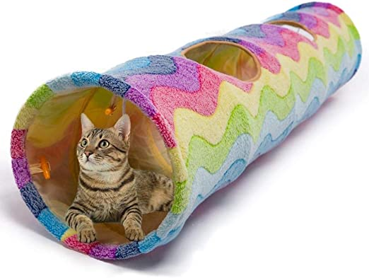 Túneles Para Gatos Artículos Para Gatos Tubos Y Túneles Para Animales Pequeños Túnel Para Mascotas Gato