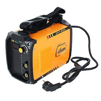 Yongse JUBA ZX7-200 IGBT Inversor de Soldadura Portátil MMA ARC Máquina de Soldadura: Amazon.es: Electrónica