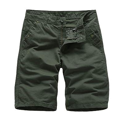 Alangbudu - Pantalones Cortos de Senderismo para Hombre, livianos ...