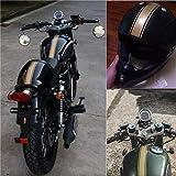 Alamor Decadencia Del Tanque De La Motocicleta Cowl Vinyl Stripe Pinstripe Decal Sticker Para Cafe Racer-Gold