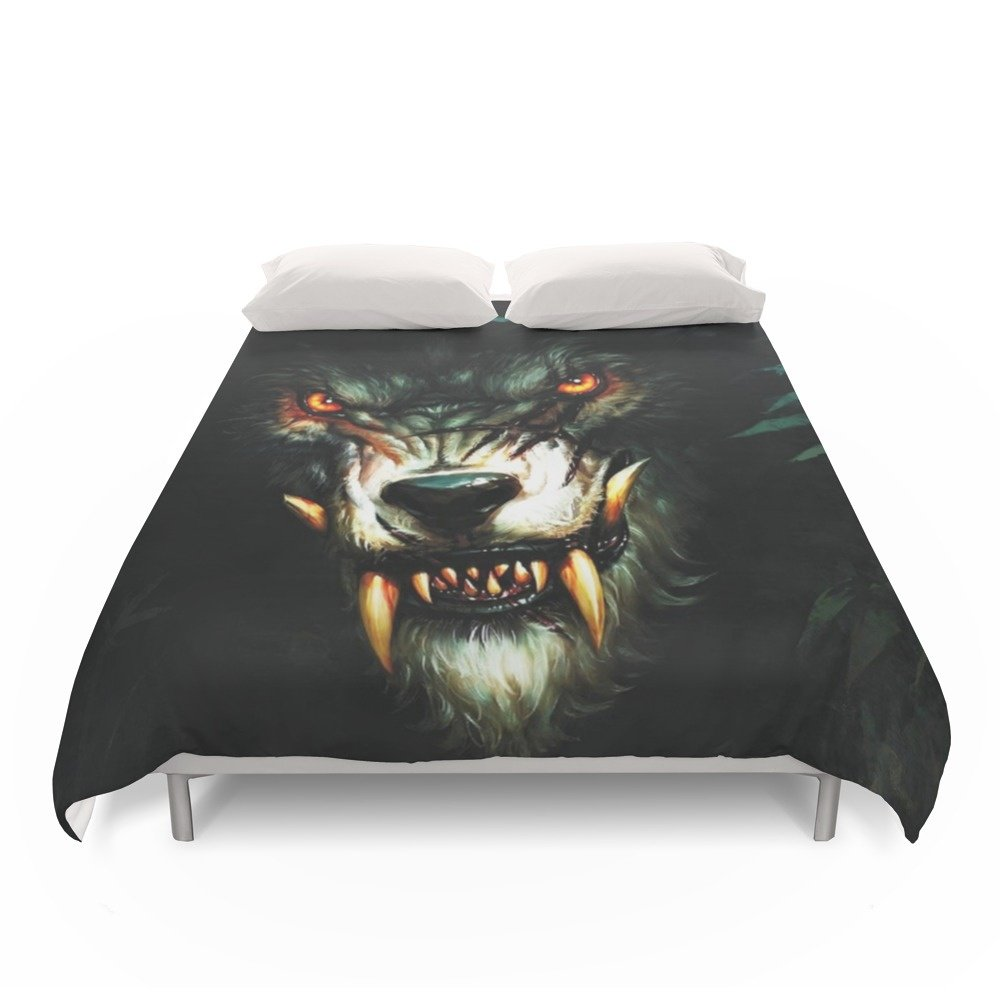 Society6 Beast Animal Duvet Covers Full: 79'' x 79''