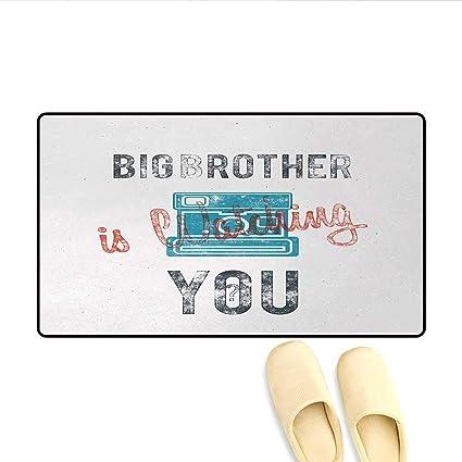 Amazon.com : Koperororo Doormat, Half Toned Big Brother ...