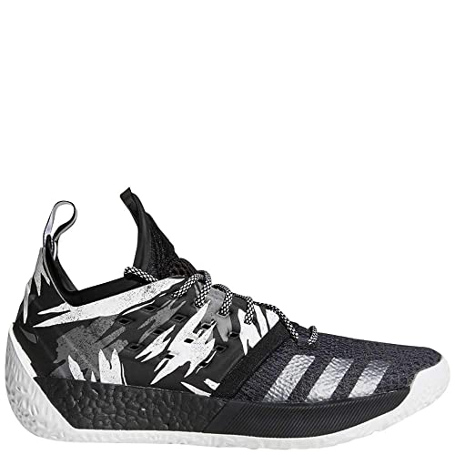 56c2979314c8 adidas Harden Vol. 2 Shoe Men s Basketball 10.5 Core Black-Grey-Iron  Metallic  Amazon.co.uk  Shoes   Bags