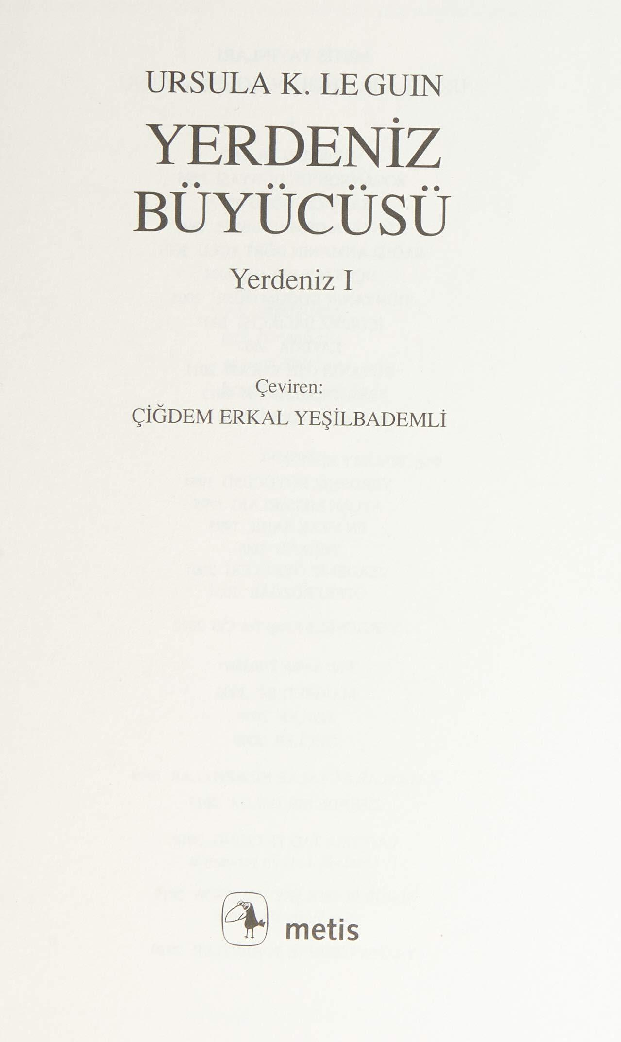 Download Yerdeniz By Ursula K Le Guin