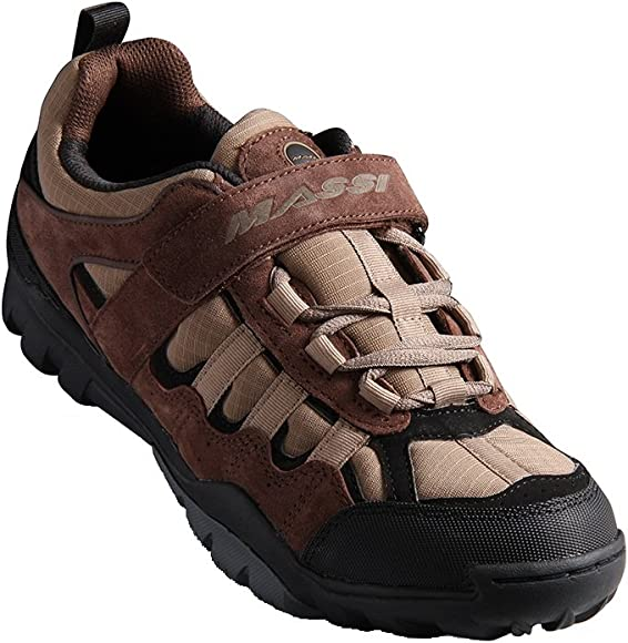 Massi Canyon Brown Zapatillas de Ciclismo MTB, Unisex Adulto ...