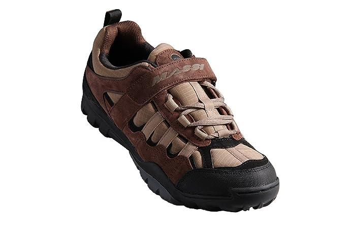 Massi Canyon Brown Zapatillas de Ciclismo MTB, Unisex Adulto ...