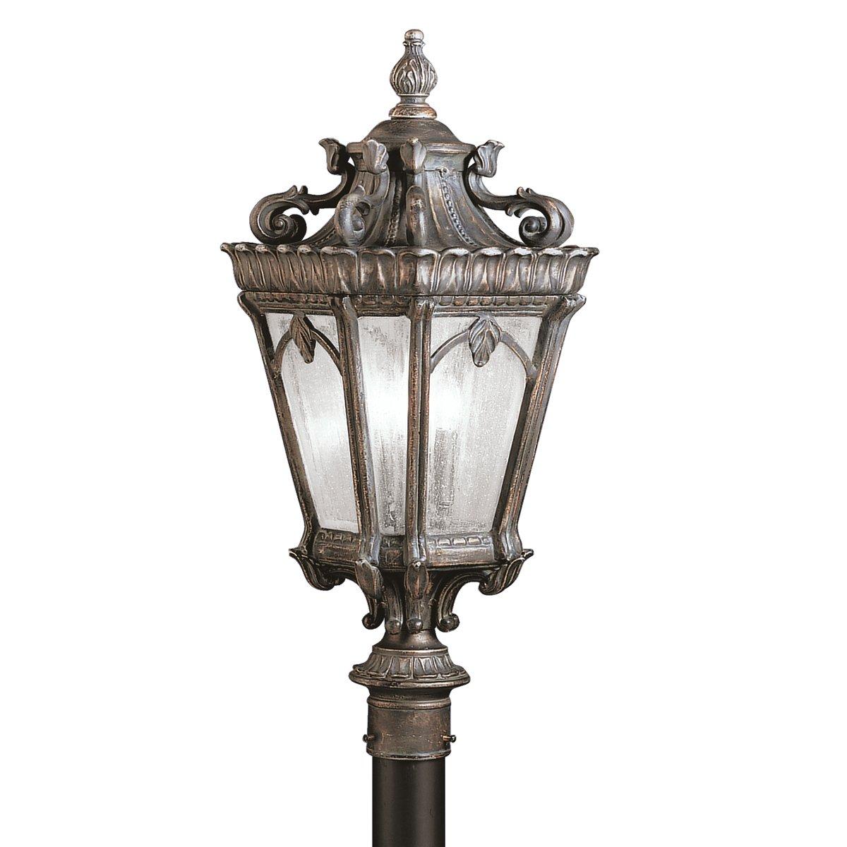 Kichler 9558ld three light outdoor post mount amazon mozeypictures Images