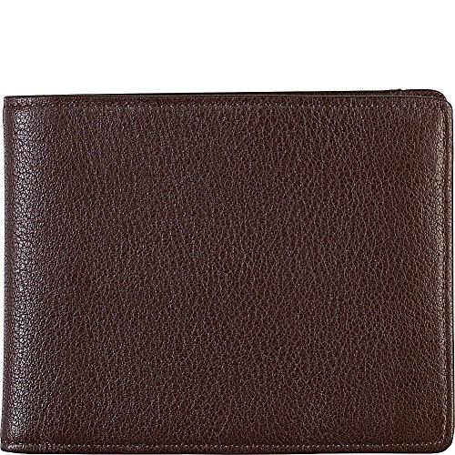 Johnston & Murphy Flip Bifold RFID Wallet (Dark Brown)