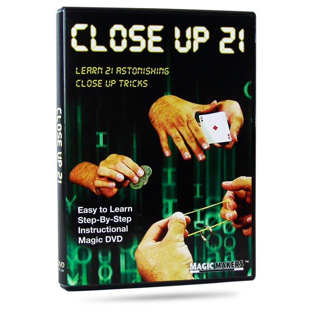 Close up 21  Learn 21 Amazing Closeup Magic Tricks That You Can Do Anywhere, Anytime
