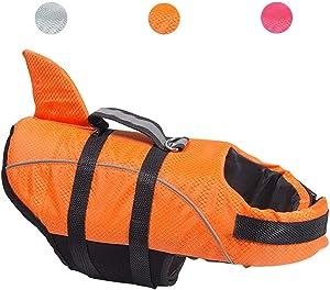 Avanigo Dog Life Jacket Shark Dog Swimming Vest