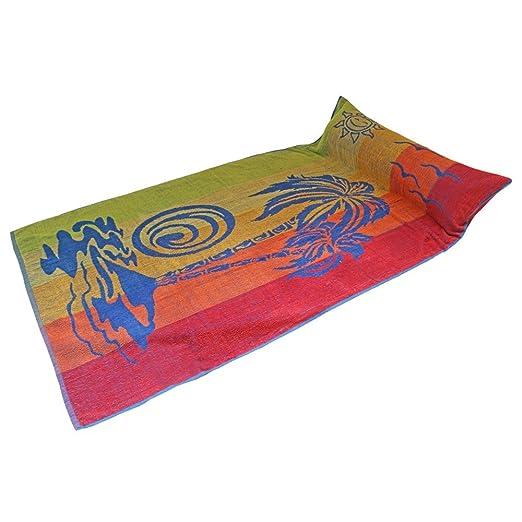 Playa (Aire Inflable con almohada Reposacabezas Toalla de ...