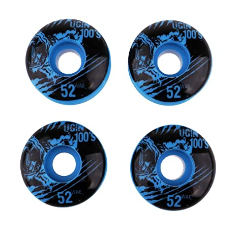 IPOTCH 4 Unidades Ruedas de Tablas de Skate de Reemplazo Resistente a Desgaste para Monopatín -