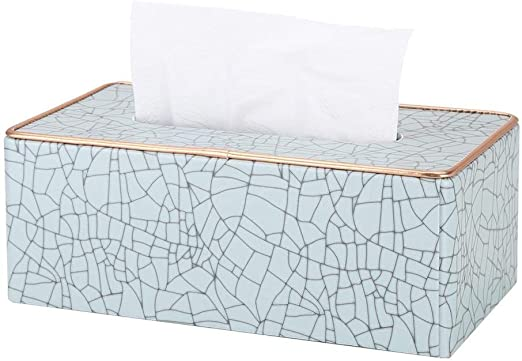 Ghong Caja de pañuelos-Caja de pañuelos servilletas de Mesa Cuadro ...