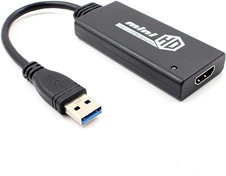 TOOGOO Mini-USB-3-0-a-HDMI-HD-TV-1080P- Conversor ...