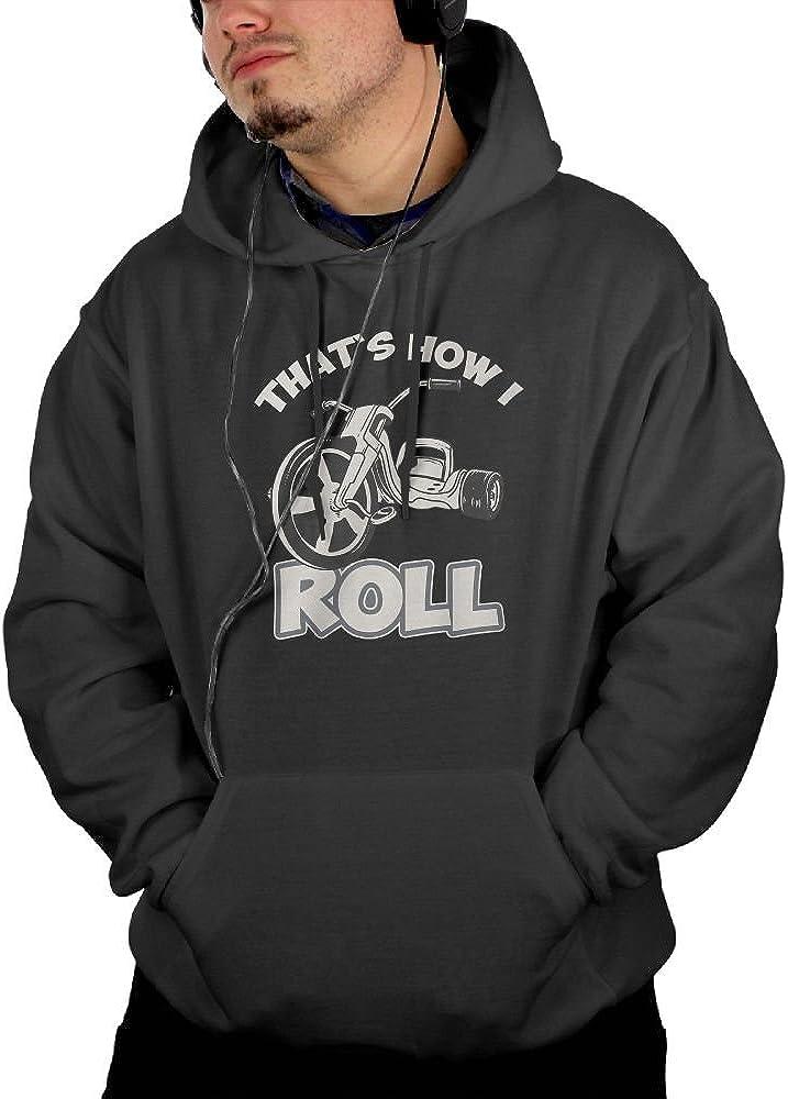RMM KKK Man Thats How I Roll Sweatshirt Pullover Hoodie