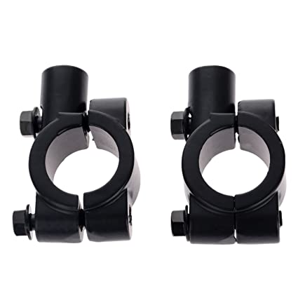 Autres 8mm Thread 7/8 Motorcycle Rearview Handlebar Mirror Mount Holder Adapter Clamp