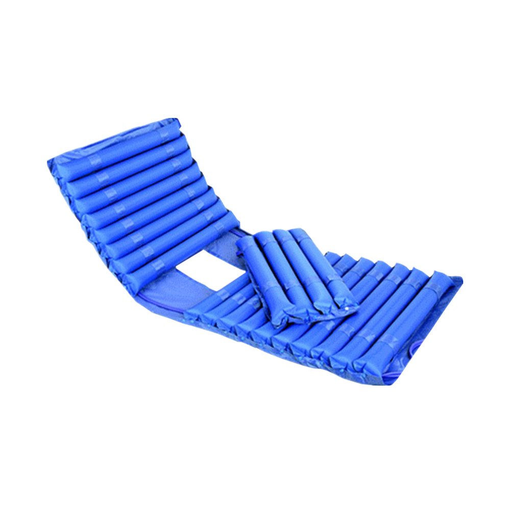 Anti-Wundliegen Luftmatratze Blau Alten Luftmatratze Bedsore Aufblasbares Bett Zuhause Gelähmt Pflege Mit Loch Mit Luftpumpe 90  200 cm