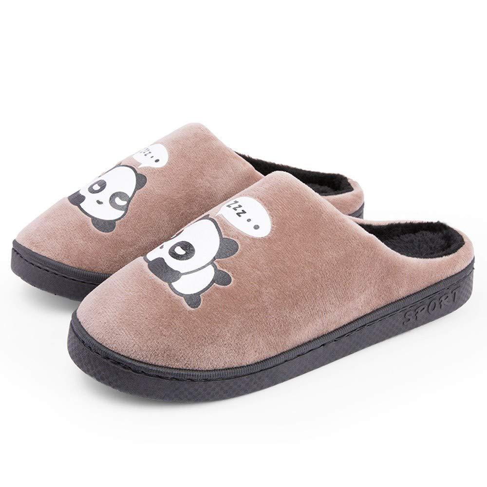 LuckyGirls Zapatillas De Estar por Casa Color Puro Suave C/ómodo Chancla Zapatos para Hombre para Hombre