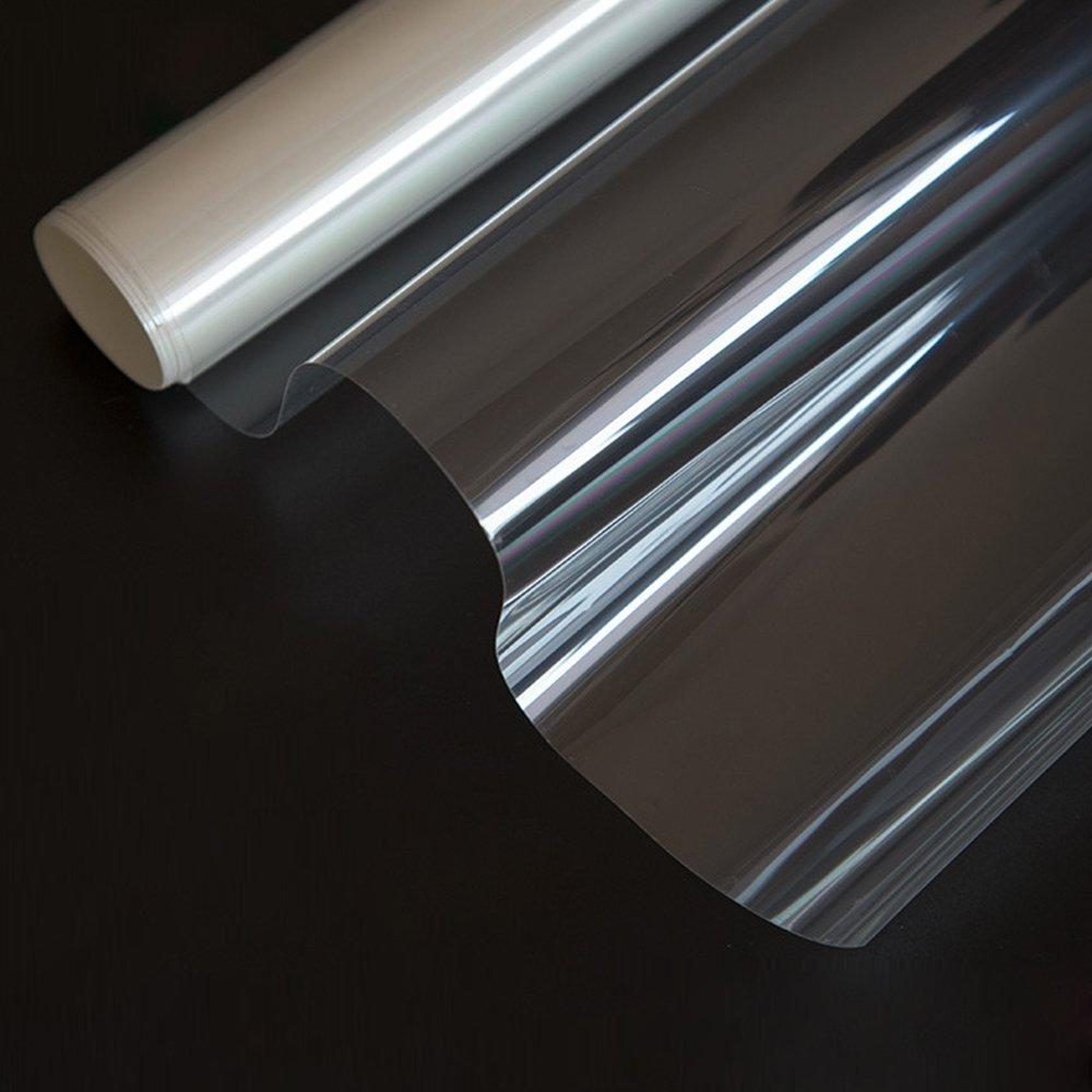 Mr.M ガラスフィルム 窓 飛散防止 遮熱フィルム 断熱フィルム 透明 クリア UVカット 飛散防止フィルム 透明 B07BSCD4J3 90cm*1000cm