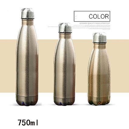 Diseño de la botella de agua-último aislado, doble pared de acero inoxidable vacío