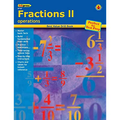 Best Value Drill Book Fractions 2: Office Products