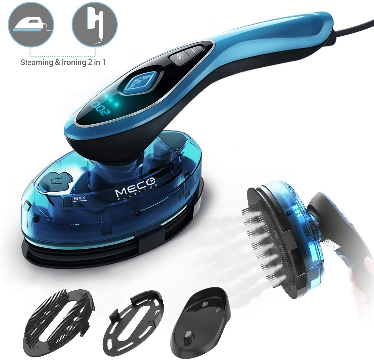 MECO ELEVERDE Clothes Steamer 1500W image 1