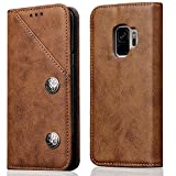 Samsung Galaxy S9 Plus PU Leather Wallet Phone...