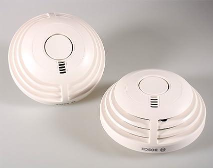 2 x Bosch Detector Ferion 1000 o con 10 años de iones de batería fuego Detector