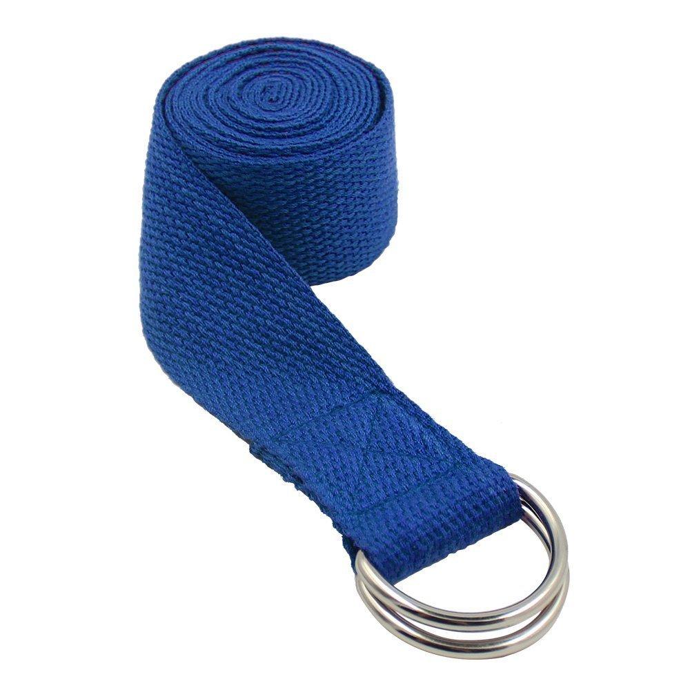 Qinlee Yoga-Gurt Yoga Gürtel für Flexibilität und Physiotherapie Fitness Sport Yoga Tragegurt Yoga-Riemen Yoga Stretching Gürtel