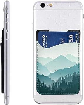 Hermosa Funda para teléfono Celular, diseño de Paisaje de montaña, Color Verde, para la Parte Posterior de iPhone, Android y Todos los Smartphones: Amazon.es: Electrónica