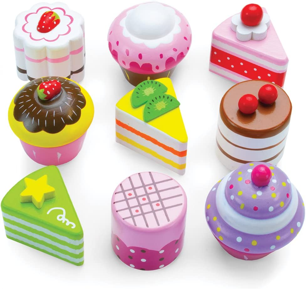 Wooden Delectable Desserts - 10 Piece Set!