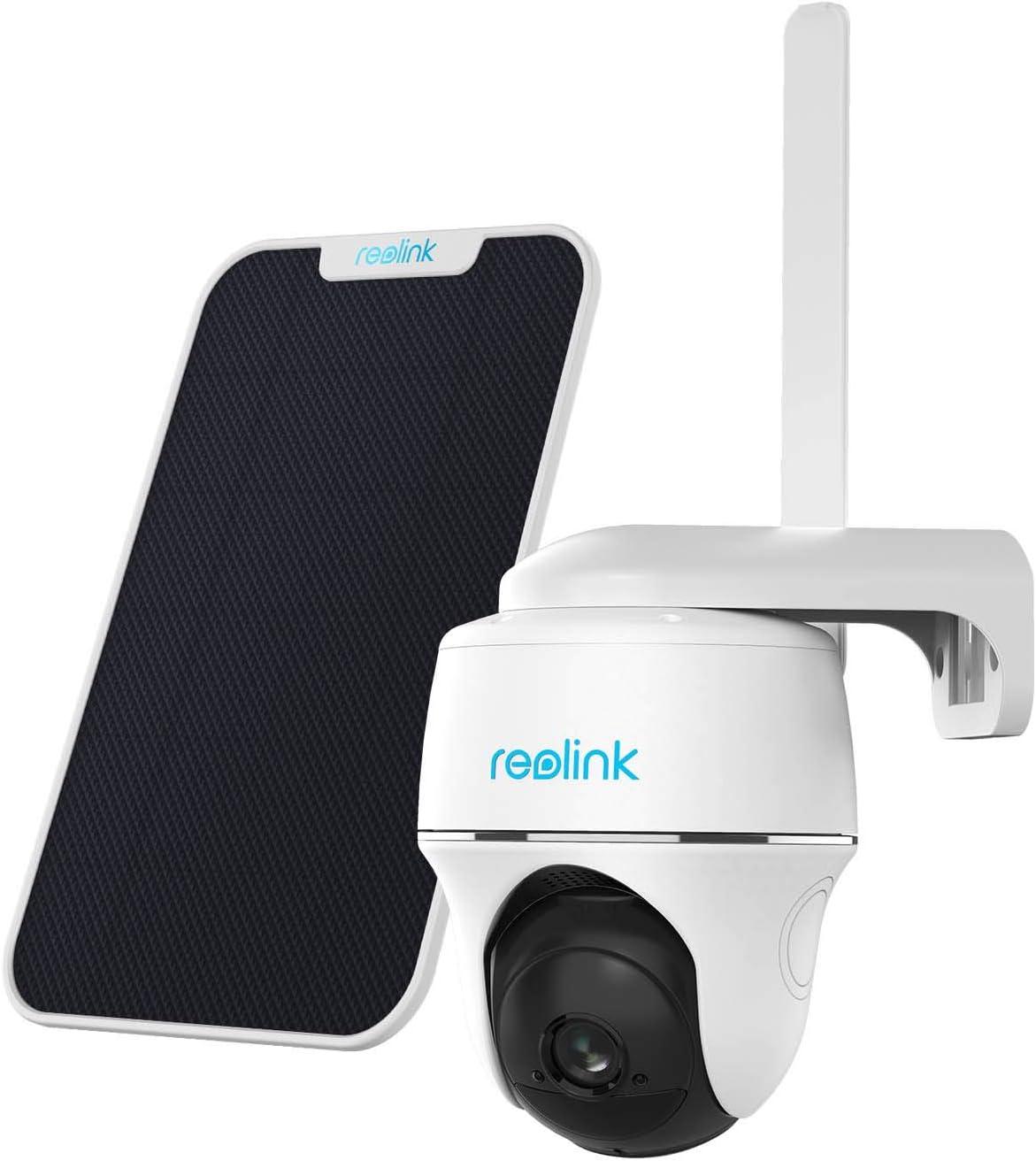 Reolink 1080P Caméra Surveillance sur Batterie Extérieure sans Fil avec 3G/4G LTE,...