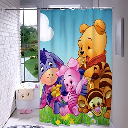 Amazon Com Disney Collection Shower Curtain 7272 Inch