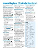Internet Explorer 11 for Windows 8. 1 Quick Reference Guide (Cheat Sheet of Instructions, Tips and Shortcuts - Laminated Card), Beezix Inc., 1939791154